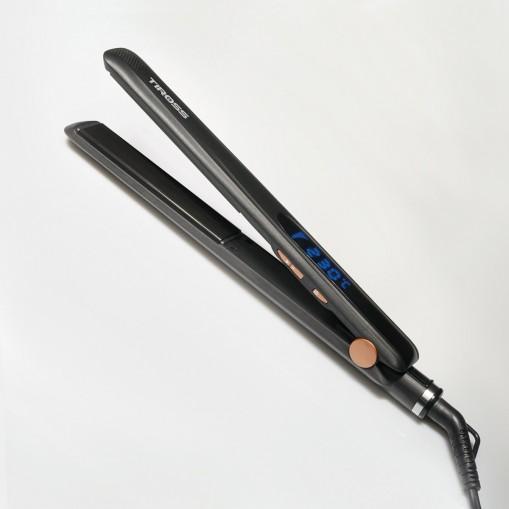 Prostownica do włosów z wyświetlaczem LCD