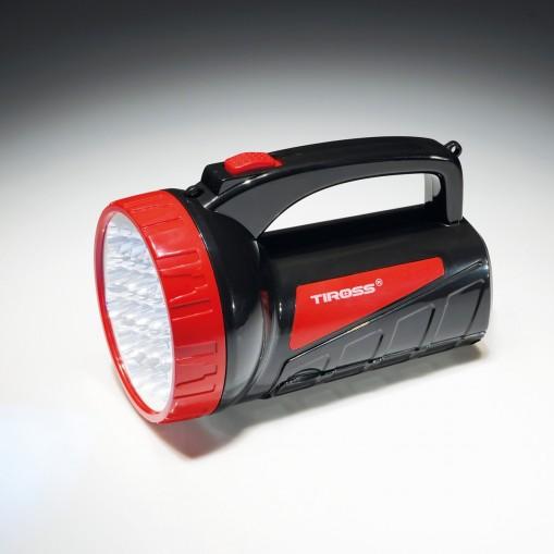 Energooszczędna latarka akumulatorowa LED