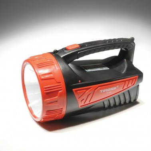 Poręczna latarka akumulatorowa LED
