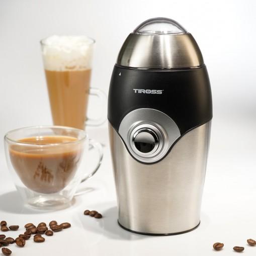 Młynek do kawy z elegancką obudową