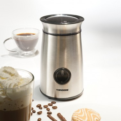 Młynek do kawy z metaliczną obudową