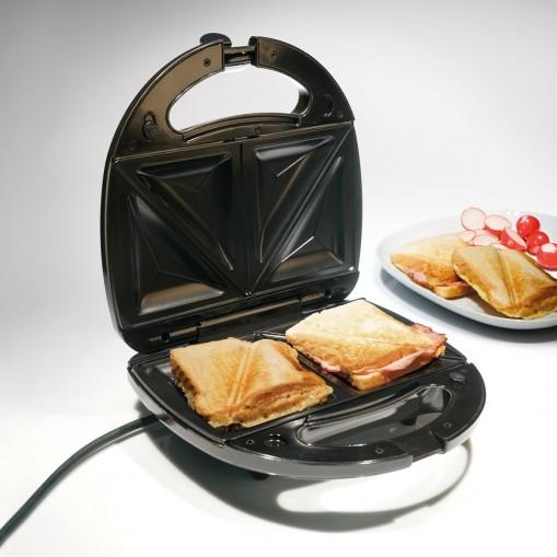 Opiekacz do kanapek z nieprzywierającą powierzchnią grzewczą