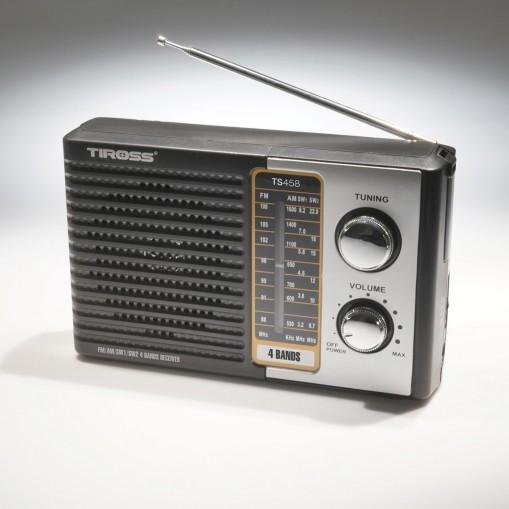 Stylowe radio przenośne