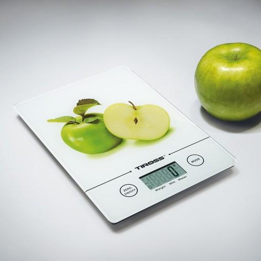 Elektroniczna waga kuchenna z owocowym motywem