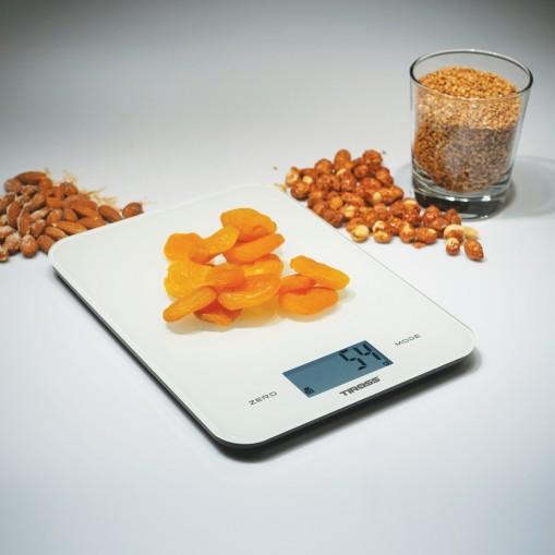 Elektroniczna waga kuchenna z szkła hartowanego